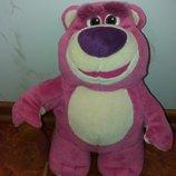 Мягкая игрушка мишка медведь Лотсо 30 см из мультфильма Истории игрушек Дисней дісней disney.