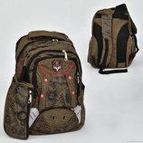 Рюкзак школьный с пеналом N 00219, 7 карманов