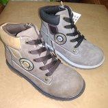 Демисезонные ботинки 27-32 р. B&G на мальчика, демісезон, ботінки, хлопчик, весенние, осенние, биджи