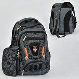 Рюкзак школьный с пеналом N 00218, 7 карманов
