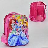 Рюкзак школьный с 3D изображением принцесс Disney 00244