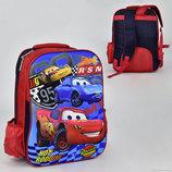 Рюкзак школьный с 3D изображением Тачки N 00242
