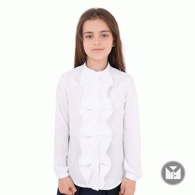 0c928036a7e Элегантная приталенная школьная блуза для девочки 122-152р  295 грн ...