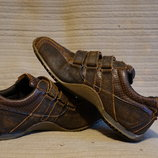 Стильные винтажные кожаные кроссовки Burton 1904. Англия. 9 р.