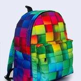 Рюкзаки с 3 D принтом Цветные Кубики