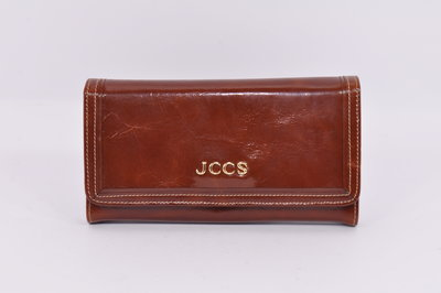 56f8f8321fd7 Кошелек женский кожаный JCCS 3053 коричневый классический: 986 грн ...