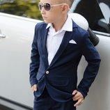 Школьный костюм на мальчика школьная форма мальчику темно синяя