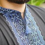 Мужская вышиванка футболка, классного качества, р-р 46-58