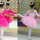 Пышная юбка пачка для танцев из фатина и евросетки