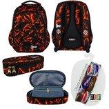 Школьний набор рюкзак и пенал st.right Lava