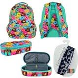 Школьний набор рюкзак и пенал st.right Donuts
