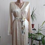 атласное платье размер С-М