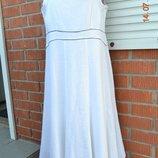 Шикарное платье. сарафан Bexleys 100% лен 48-50 Новое