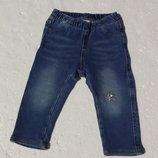 H&M. Джеггинсы, лосины джинсовые 9-12 месяцев. 80 размер.