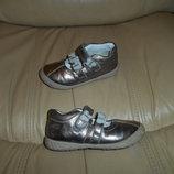Туфли балетки детские Clarks кожа, р. 23 5,1/2 ст.14,5 см .