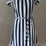 красивое платье полоска 44-46 3 вида полоски