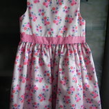 Нарядное платье Carter's на девочку 4T, б,у
