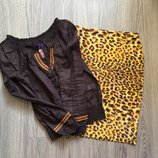 Комплект блузка и юбка с-м USA новый