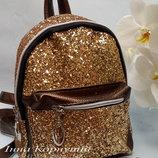 Рюкзак с блестящими пайетками