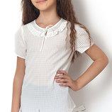 Блуза с коротким рукавом на девочку 2500 Тм MEVIS Размеры 122-146
