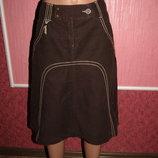 Вельветовая юбка р-р 10 бренд Mexx