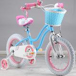 Двухколесный велосипед Royal Baby Роял Беби 12 Stargirl Blue.