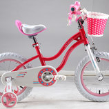 Двухколесный велосипед Royal Baby Роял Беби на 12 и 16 д Stargirl
