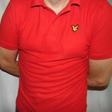 Стильная фирменная футболка тениска поло бренд . Lyle & Scott Лили и Скот .м- л .