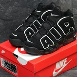 Кроссовки Nike Air More Uptempo 96 black/white