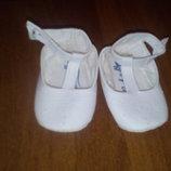Пинетки туфли балетки мокасины 9,5 см