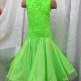 Продам платье рейтинговое бейсик для бальных танцев