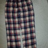 штанишки мужские домашние байковые с боковыми внутренними карманами рМ