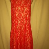 Гипюровое платье Oasis р-р16