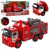 Пожарная машинка 21 см 9624 AB