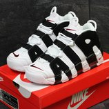 Кроссовки Nike Air More Uptempo 96 white/black
