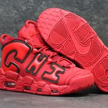Кроссовки Nike Air More Uptempo 96 red