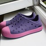 Красивые кроксы Crocs на девочку 30-31 размер оригинал