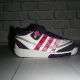 Кожаные кроссовки Adidas US 6 EUR 22