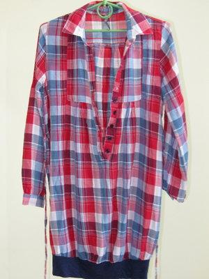 6199d943ea8 8 с 36 трендовая длинная рубашка в клетку