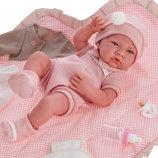 Кукла реборн младенец 42 см Toquilla Nina Antonio Juan 5095, пупс, как настоящий,R. NACIDO COMBIADO