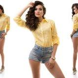 рубашка Цвет-Желтый