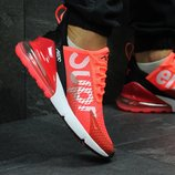 Кроссовки мужские Nike Air Max 270 Supreme coral