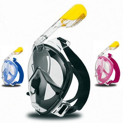 Маска для дайвинга Tribord Easybreath для подводного плавания сноркелинга c креплением для камеры