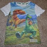 футболка мальчику H&M на 7-8 лет рост 122-128 Англия
