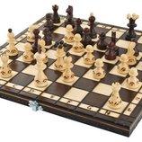 Шахматы, деревянные шашки Польша. И.