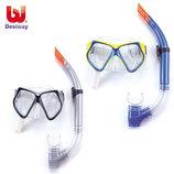 Набор для плавания маска с трубкой Bestway 24003 2 цвета, силикон пластик