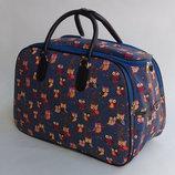 Дорожная тканевая сумка гобеле, много цветов Размер 42 см. ,45 см. , 48 см.