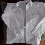 Белоснежная школьная рубашка