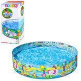 Детский каркасный бассейн джунгли Intex 58474 размер 122х25см