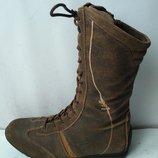 Ботинки. кожаныедлина стельки 24.5 см размер 37-38